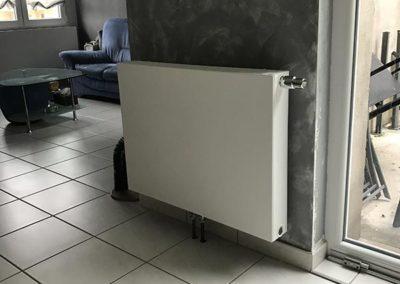 Installation radiateurs. Samba pur