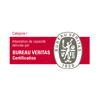 Attestation de capacité Bureau Veritas