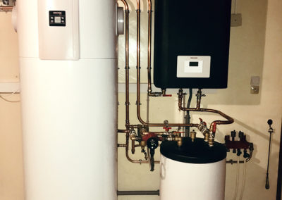 Pompe à chaleur air eau WPL25 ACS
