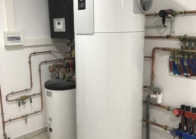 Pompe à Chaleur air eau. Installation clés en main chauffage, plancher chauffant, sanitaires.